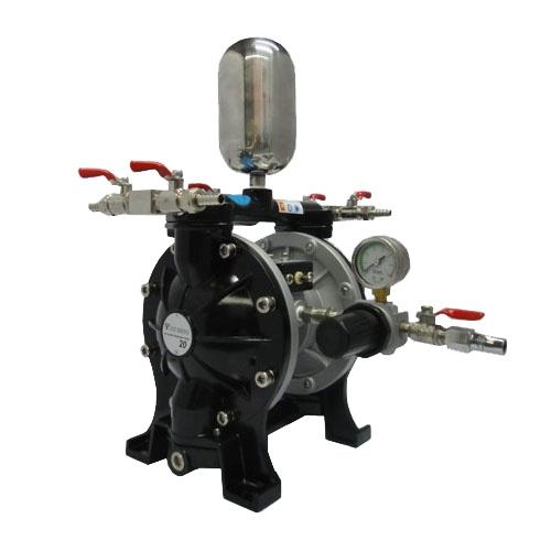 大流量4分气动双隔膜泵